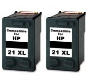 Komplet tinta za HP C9351CE nr.21XL (crna), dvostruko pakiranje, zamjenski