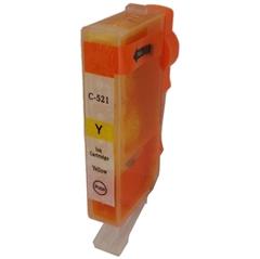 Tinta za Canon CLI-521Y s čipom, zamjenska