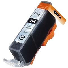 Tinta za Canon CLI-526BK (crna) s čipom, zamjenska