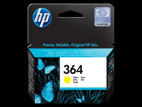 Tinta HP CB320EE nr.364 (žuta), original