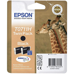 Tinta Epson T0711H (crna), 2 komada, original