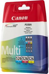 Komplet tinta Canon CLI-526 Z (plava, ljubičasta, žuta), original