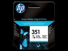 Tinta HP CB337EE nr.351 (boja), original