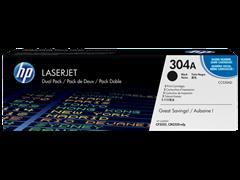 Toner HP CC530AD / 304A (crna), dvostruko pakiranje, original