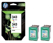 Tinta HP CB332EE nr.343 (boja), dvostruko pakiranje, original