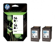 Tinta HP C9502AE (C6656AE) nr.56 (crna), dvostruko pakiranje, original