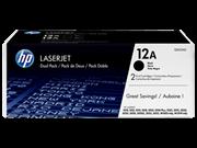 Toner HP Q2612AD (crna), dvostruko pakiranje, original