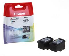 Komplet tinta Canon PG-510 + CL-511, original