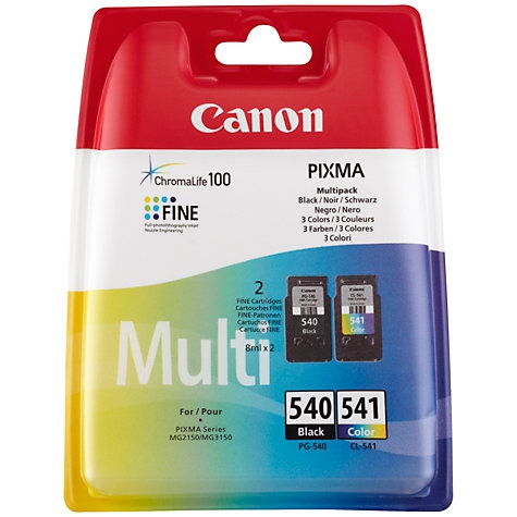Komplet tinti Canon PG-540 (crna) + CL-541 (boja), original