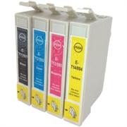 Komplet tinta za Epson T0715 (BK/C/M/Y), zamjenski
