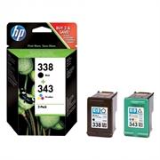 Tinta HP SD449EE (nr.338 BK + nr.343 CMY), dvostruko pakiranje, original