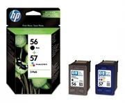 Tinta HP SA342AE (nr.56 BK + nr.57 CMY), dvostruko pakiranje, original