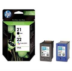 Tinta HP SD367AE (nr.21 BK + nr.22 CMY), dvostruko pakiranje, original