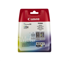 Komplet tinta Canon PG-40 + CL-41, original