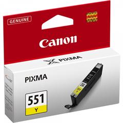Tinta Canon CLI-551Y (žuta), original