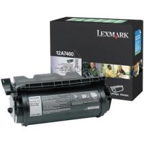 Toner Lexmark 12A7460 (crna), original