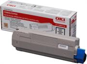 Toner OKI 43865724 (C5850) (crna), original