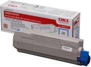 Toner OKI 43865723 (C5850) (plava), original