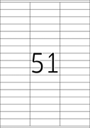 Naljepnice 420, 70 X 16,9 mm
