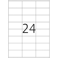 Naljepnice 475, 70 X 36 mm