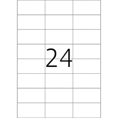 Naljepnice 474, 70 X 37 mm