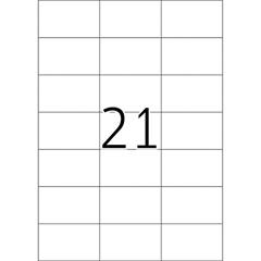 Naljepnice 652, 70 X 42,3 mm