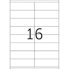 Naljepnice 665, 105 X 33,8 mm