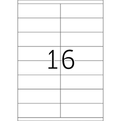 Naljepnice 423, 105 X 35 mm