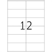Naljepnice 424, 105 X 48 mm