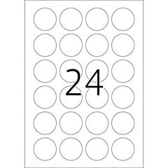Naljepnice 415, promjer 40 mm