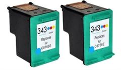Komplet tinta za HP C8766EE nr.343 (boja), dvostruko pakiranje, zamjenski