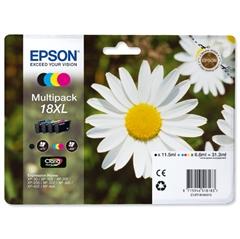 Komplet tinta Epson 18 XL (C13T18164010) (BK/C/M/Y), original