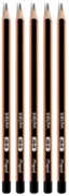 Grafit olovka 2B, 5 komada