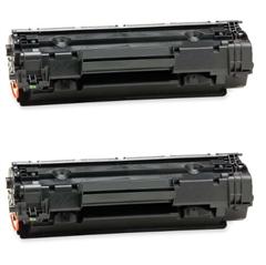 Komplet tonera za HP CB436A (crna), dvostruko pakiranje, zamjenski