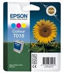 Oštećena ambalaža: tinta Epson T018 (boja), original