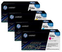 Komplet tonera HP Q6000/1/2/3 124A (BK/C/M/Y), original