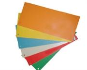 Pregrada kartonska 10 x 22,5 cm, crvena