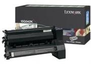 Toner Lexmark 15G042K (crna), original