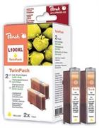Komplet tinta za Lexmark 14N1071E nr.100XL (žuta), dvostruko pakiranje, zamjenski
