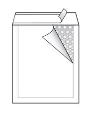 Kuverta F br.6, podstavljena, 220 x 330 mm, bijela, 10 komada