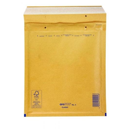 Kuverta D br.4, podstavljena, 180 x 260 mm, smeđa, 100 komada