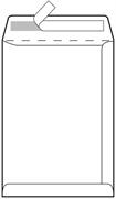 Kuverta vrećica C4, 230 x 330 mm, bijela, 500 komada