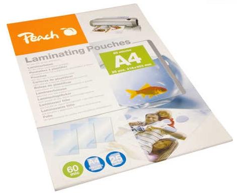 Vrećice Za Plastificiranje 25 Komada A4 Glossy 60 Mic