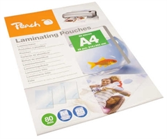 Vrećice za plastificiranje, 25 komada (A4), glossy, 80 mic (PPR080-02)