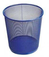 Koš za smeće 27 x 28 cm, metalni, plavi
