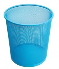 Koš za smeće 27 x 28 cm, metalni, svijetlo plavi