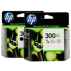 Komplet tinta HP nr.300XL (BK + CMY), original