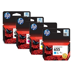 Komplet tinta HP nr.655 (BK/C/M/Y), original