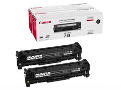 Komplet tonera Canon CRG-718BK (2662B005) (crna), dvostruko pakiranje, original