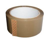 Ljepljiva traka 48 x 66 mm, smeđa, 6 komada